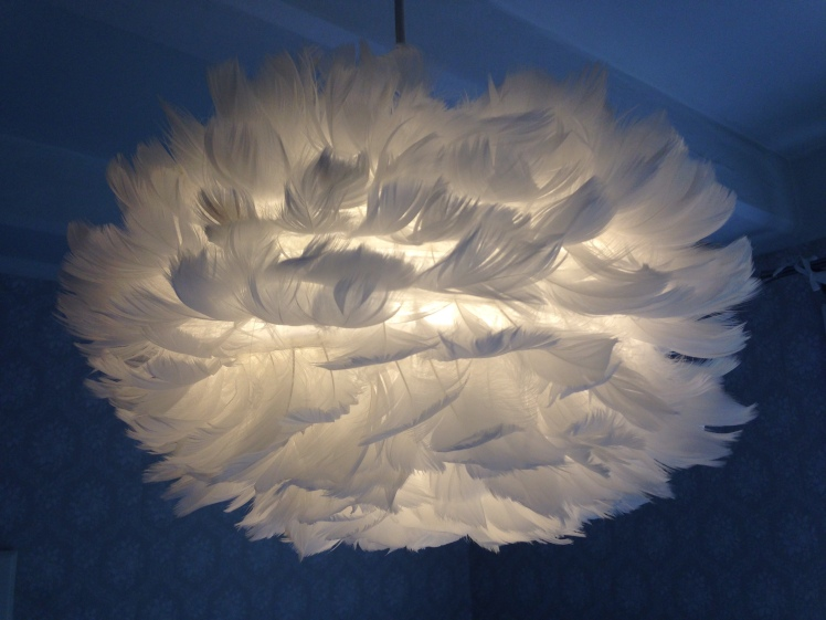 The Feather Lamp of the Donwstairs Bedroom <3